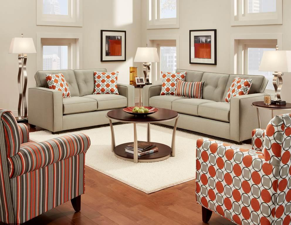 Modern Living Upholstery Set El Paso Household Furniture