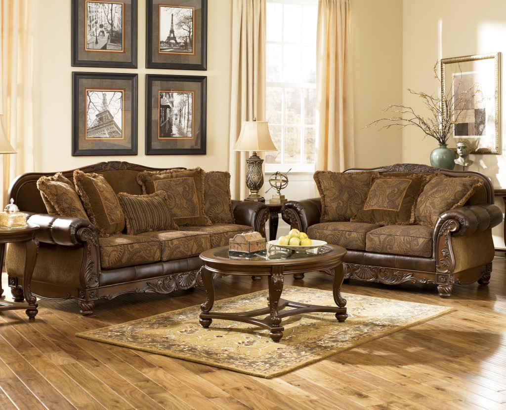 Traditional Living Set El Paso Household Furniture